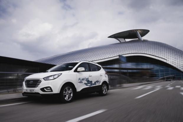 Wodorowe samochody Hyundaia wkrótce w Londynie