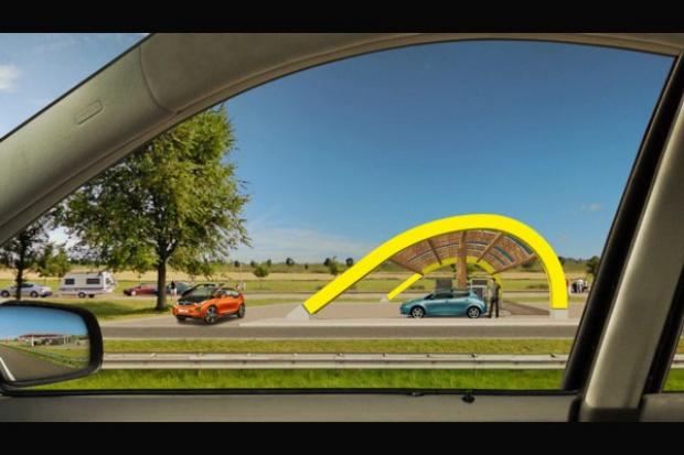 Holenderski przykład: 200 stacji szybkiego ładowania e-aut