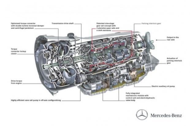 Mercedes wprowadza 9-biegowy automat