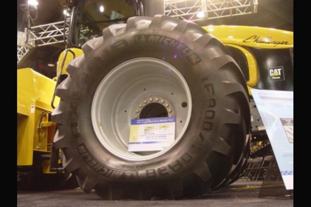 Oto największa rolnicza opona Michelin