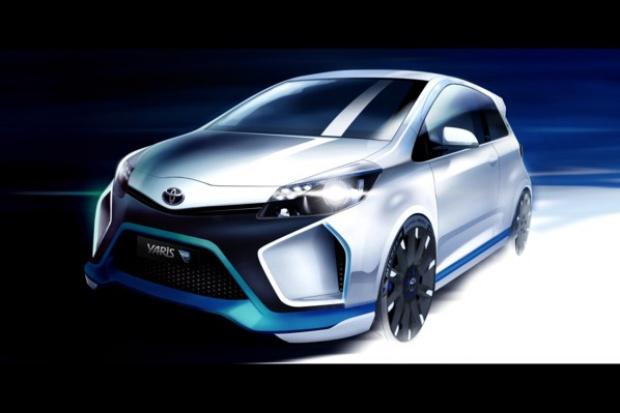 420 KM w Yarisie Hybrid-R concept