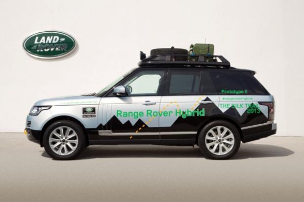 Land Rover prezentuje swoje pierwsze hybrydy