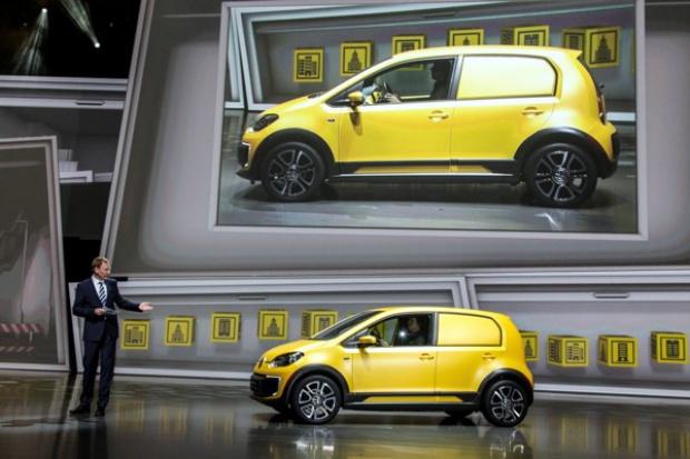 Volkswagen proponuje elektryczną mini-furgonetkę
