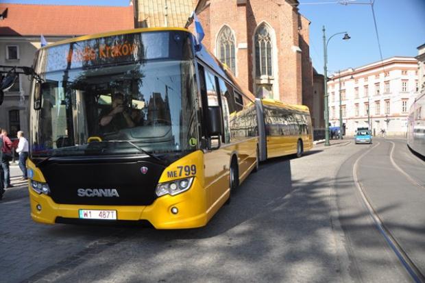 Mobilis testuje w Krakowie najnowszy autobus Scania CityWide