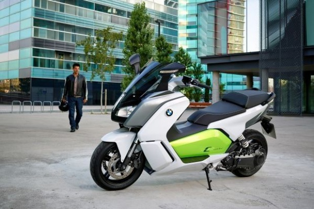 BMW wprowadza elektryczny skuter C evolution