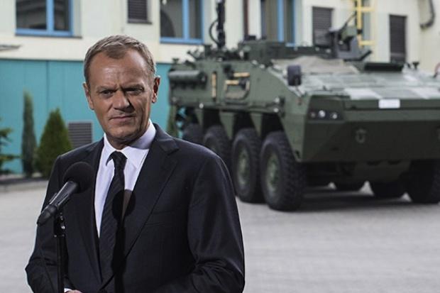 Tusk: powstaje Polska Grupa Zbrojeniowa