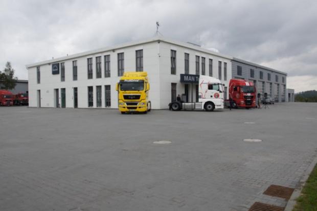 Nowe Truck & Bus Center w podkrakowskiej Modlnicy