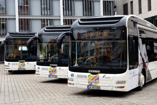 MAN Lion's City Hybrid z Polski do Ingolstadt