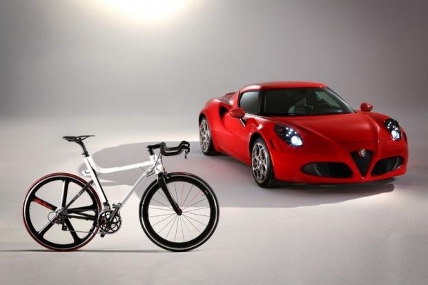 Komu rower od Alfy Romeo?