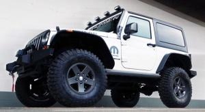Jeep wjeżdża do Maroka