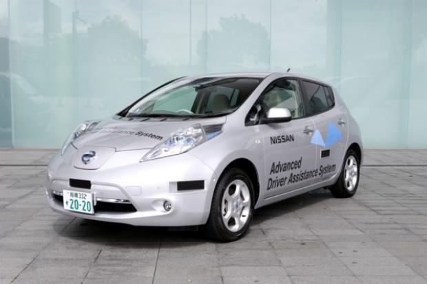 """""""Autonomiczny"""" Nissan LEAF dopuszczony do testów na japońskich drogach"""