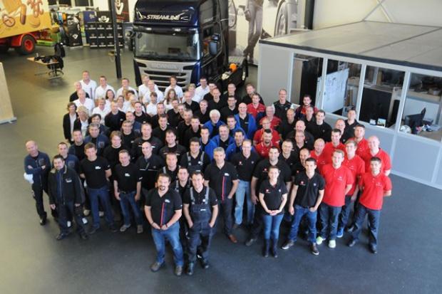 Serwisanci rywalizowali w Scania Top Team