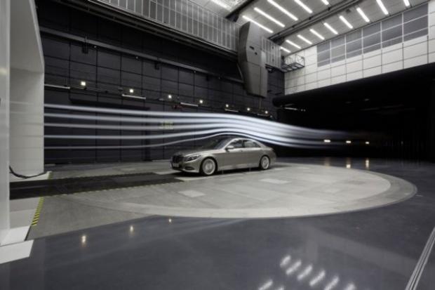 Nowy tunel aeroakustyczny Mercedes-Benz