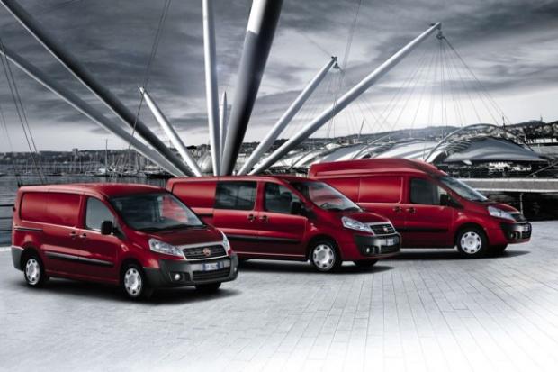 Najwięcej furgonetek i vanów sprzedają Fiat, Peugeot i Renault
