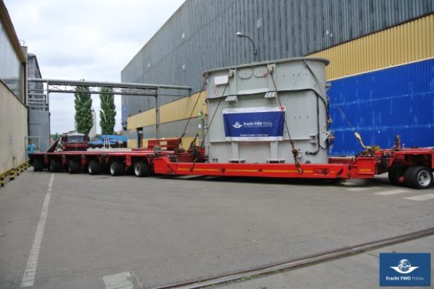 Transformatory - wyzwanie także dla logistyków. Fracht FWO Polska