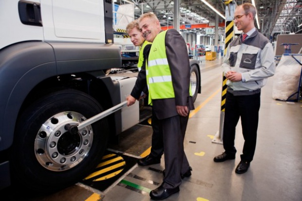 Jubileusz produkcyjny MAN Trucks Niepołomice