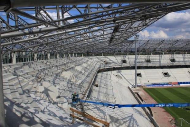 Polimex wnioskuje o nowy termin budowy stadionu w Zabrzu