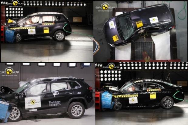 "Euro NCAP ""rozbiła na piątki"" jeepa, mercedesa, peugeota i suzuki"