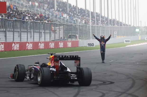 Infiniti celebruje mistrzostwo F1 z Sebastianem Vettelem