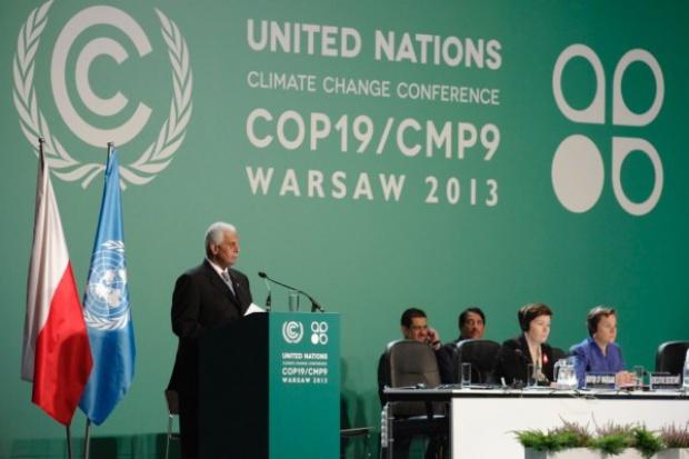 Szczyt klimatyczny COP19 w Warszawie rozpoczęty