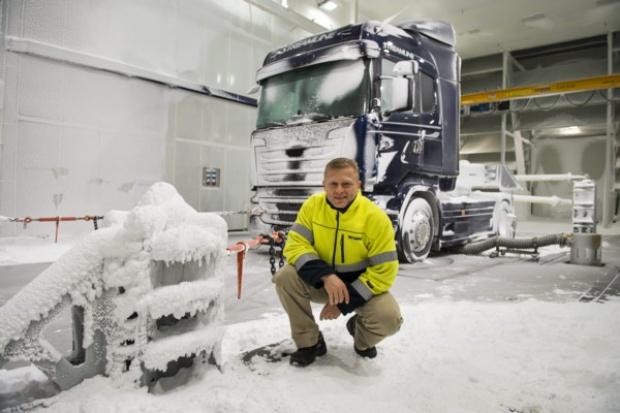 """Scania będzie prowadzić testy w aerodynamicznym tunelu """"klimatycznym"""""""