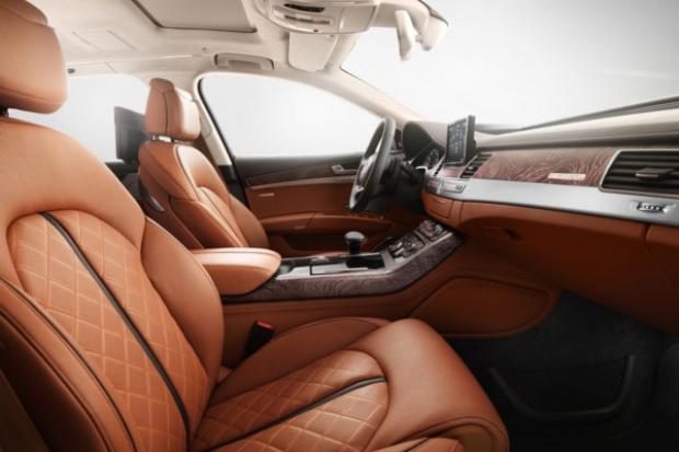 A8 Audi exclusive concept - jak salon na kołach