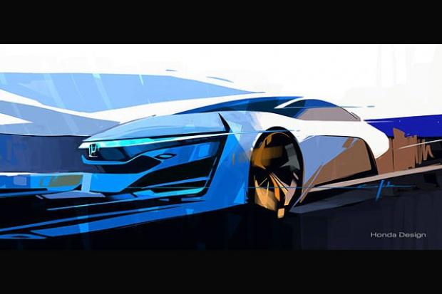 Nowa wodorowa Honda na kilka dni przed premierą