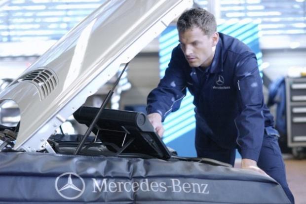 Mercedes wprowadza w Polsce Certyfikat Naprawy Blacharsko-Lakierniczej