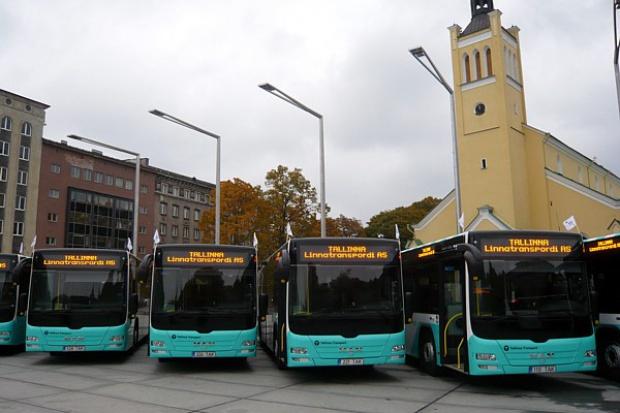 MAN wysyła autobusy do stolicy Estonii