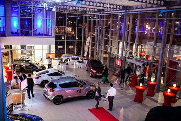 Nowy salon Nissana w Łodzi