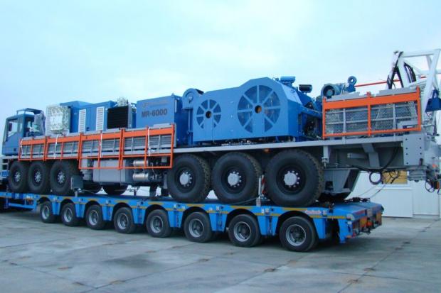 PeBeKa wierci dla KGHM 300-tonową maszyną