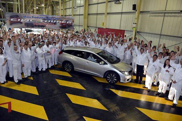 W Wielkiej Brytanii ruszyła produkcja Hondy Civic Tourer