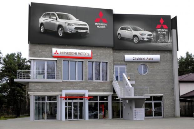 Nowa placówka Mitsubishi pod Warszawą