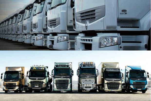 Volvo Polska reprezentuje Volvo Trucks i Renault Trucks