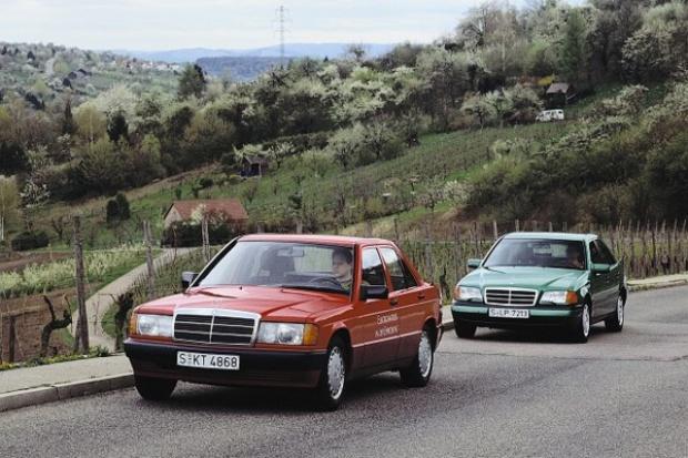 """Znaczenie modelu 190 i Klasy C dla rozwoju """"napędów"""" Mercedesa"""