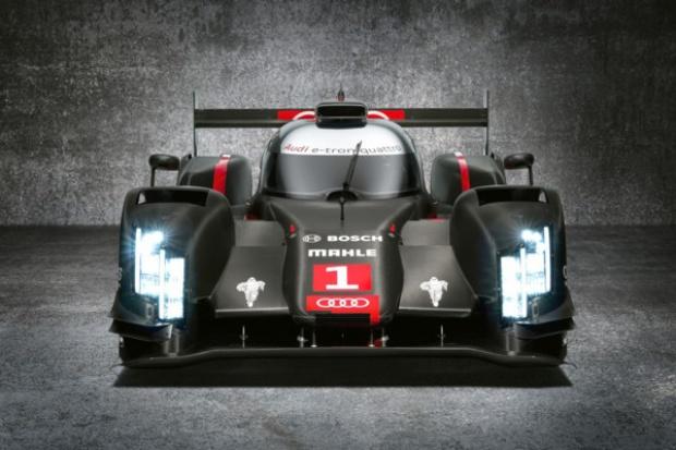 Światło laserowe w bolidach Audi
