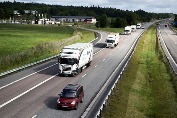 Scania w europejskim projekcie zintegrowanych konwojów