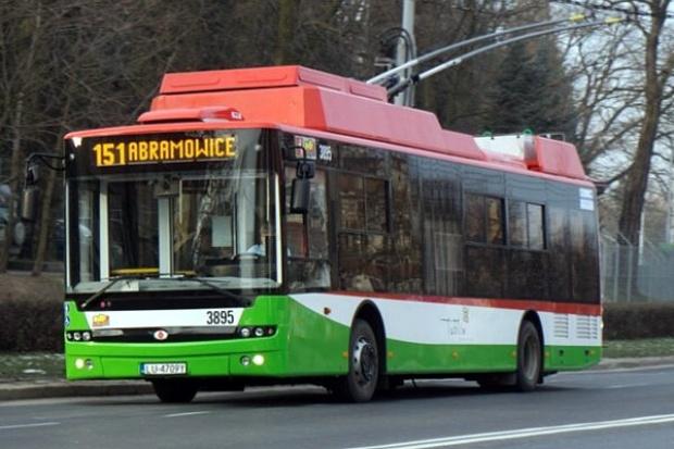 Trolejbusy Ursus na ulicach Lublina