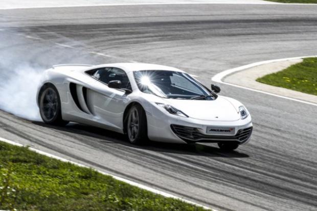 McLaren radiowozem w.... Dubaju