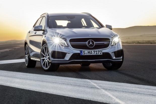 Mercedes GLA 45 AMG - co robić z taką mocą?