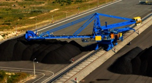 W Porcie Północnym ładowarko-zwałowarka o największym wysięgu w Polsce