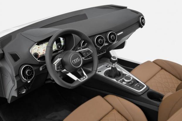 Sportowe wnętrze przyszłości wg Audi