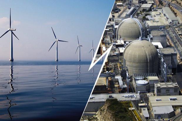 Atom, wiatr, węgiel i gaz podstawą polskiej energetyki