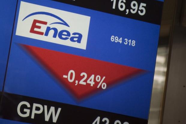 Fatalna sesja dla akcjonariuszy Enei