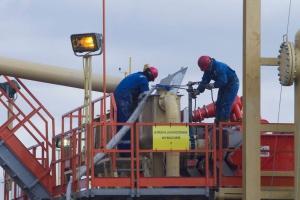 Bardzo mała liczba wierceń w poszukiwaniu gazu łupkowego