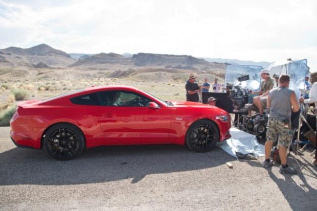 Ford Mustang znowu gwiazdą filmową
