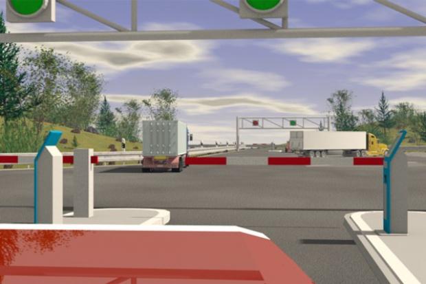 Nowa koncepcja bezpieczeństwa Bosch Secure Truck Parking