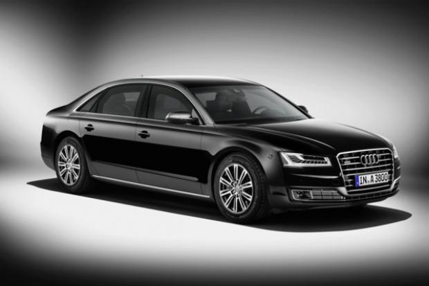 Oto nowe pancerne Audi