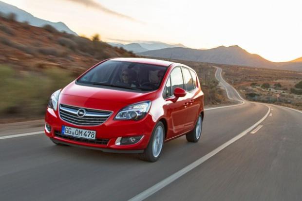 Opel odświeżył model Meriva