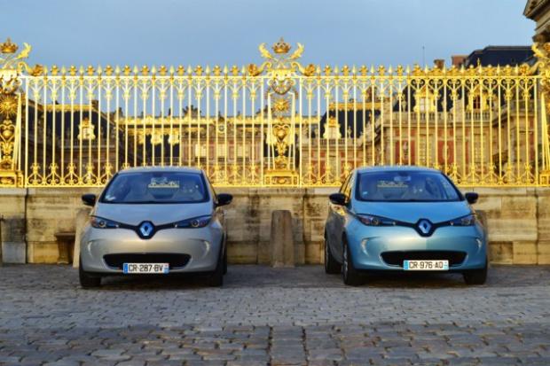 Renault ZOE obchodziło pierwsze urodziny w ...pałacu